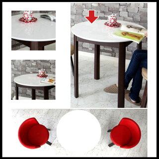 【単品】ダイニングテーブルカフェテーブル丸テーブル幅80cm低め丸型円形2人用2人掛けコンパクトホワイト白/食卓テーブルシンプルモダン北欧ナフコ無印|おしゃれかわいい【ポエム80】セールアウトレット価格人気