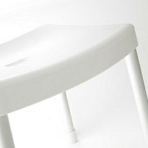 RETTO<レットー>コンフォートチェア[座面の高さ:31cm]ホワイトバスチェア/シャワーチェア/バス/浴室/浴用椅子/風呂いす/ふろ/おしゃれ【I'MD/IMD/アイムディー】【送料無料】【あす楽】