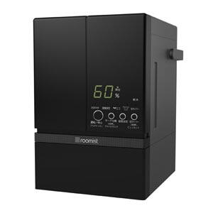 【140】SHE60RD-K ブラック 三菱重工 スチームファン蒸発式 加湿器 roomist(ルーミスト) おもに10畳用【楽天あんしん延長保証加入可能】【kk9n0d18p】