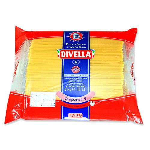 ディベラ No.9 5Kg (1.55mm) スパゲッティーニ パスタ スパゲティ DIVELLA サイズ : 5kg 入数 : 1 業務用 まとめ買い画像