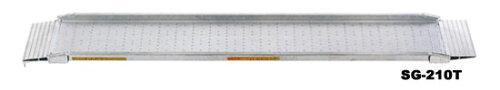 昭和ブリッジ アルミブリッジ SG-240S 0.15t/1本・300幅 [セーフベロ] 【スロープ アルミブリッジ...