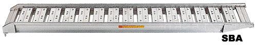 昭和ブリッジ アルミブリッジ SBA-300 3.0t/2本セット・400幅 [ツメ] 【スロープ アルミブリッジ 昭和ブリッジ】【おしゃれ おすすめ】 [CB99]:買援隊