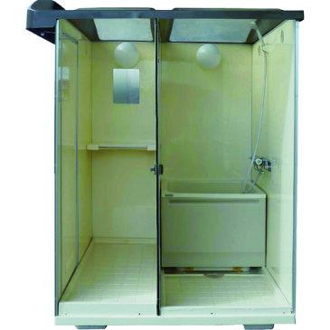 【ポイント10倍】日野 屋外用バスシャワー 浴槽付 NB-1515G 【DIY 工具 TRUSCO トラスコ 】【おしゃれ おすすめ】[CB99]