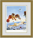 【送料無料】絵画■ダリ■Second Before Awakening■選べる額縁■名画■額装込■インテリアアート■プレゼント贈答品におすすめ