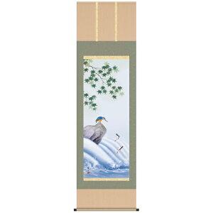 Hanging scroll hanging scroll flower and bird painting Karasawa Bizan and Ayu Nikasemi floor