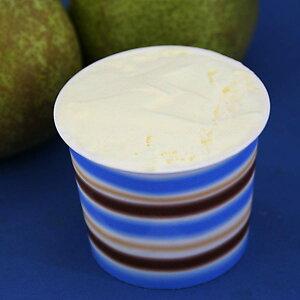 カップアイス アイスクリーム ジェラート 洋なし(ラフランス)のアイスクリーム 西洋ナシ 梨 香り高くとろけるような上品な甘さ 魁ジェラートアイスクリーム