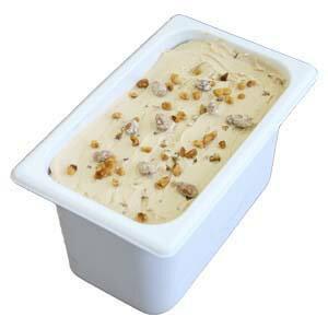アイスクリーム 業務用 メイプルウオールナッツ 4L 業務用アイスクリーム 古き良きアメリカの定番 家庭用 ギフトでも可 イベント模擬店でも可 容量4リットル デッシャーで40個分 宅配便 アイス 魁ジェラート