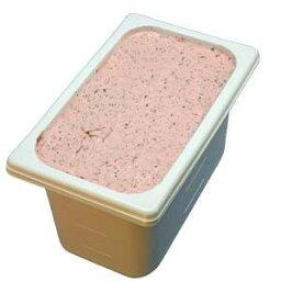 いちごチョコチップ 業務用アイスクリーム 苺のアイスの中につぶつぶチョコ 家庭用 ギフトでも可 イベント模擬店でも可 容量4リットル デッシャーで40個分 宅配便 アイスクリーム 魁ジェラート