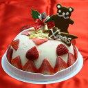 苺のミルフィーユアイスケーキ5号 当社人気一番のアイスクリームケーキ 2018年クリスマスケーキ