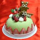 ☆2015クリスマスアイスケーキ…抹茶のアイスケーキ