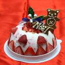 ☆2015クリスマスアイスケーキ…いちごフローズンヨーグルトアイスケーキ【グルメ201512_スイー...