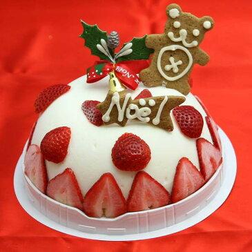 ミルク&ストロベリーのアイスケーキ クリスマスアイスケーキ2018 クリスマスケーキ2018 クリスマスケーキ予約 卵不使用 アレルギー