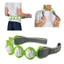 【健康支援グッズ】ボディトレ フォームローラーベルト 朝日ゴルフ 脂肪燃焼 肩こり解消 リハビリ トレーニング 高齢者 施設 運動 体を動かす 筋力アップ ごしごしベルト