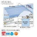 【ポイント10倍】(ピジョンタヒラ)ハビナース耐熱防水デニムシーツ(Lサイズ:175cm×90cm)(サックス)(耐熱温度130℃) 2