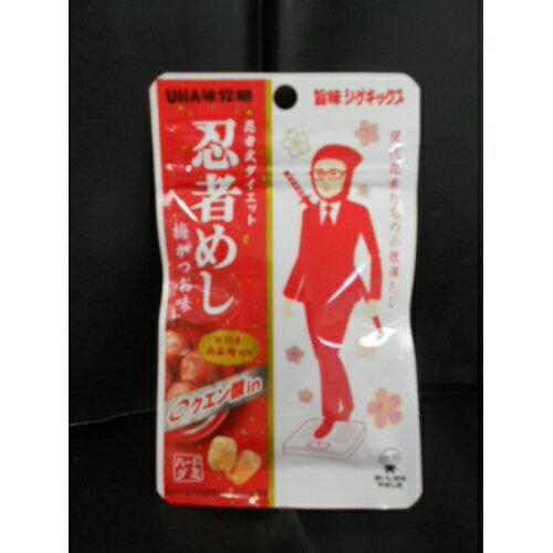 【 送料無料 】 味覚糖 忍者めし 梅かつお×80個セット (4902750615007)