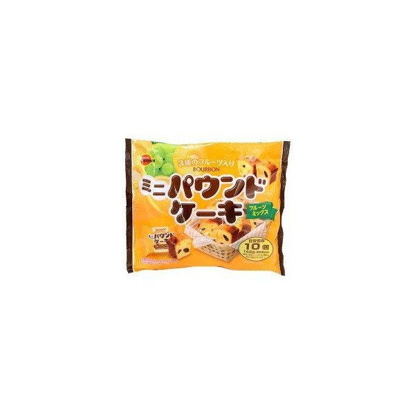 【送料無料】ブルボン ミニパウンドケーキ 142G×12個セット (4901360311040)