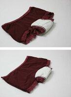 【婦人30cc】【ローライズ】日本製女性用失禁パンツ/ヒップハンガーショーツ【32045】マチ部分3重構造