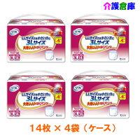リフレ大きい人のはくパンツ3L14枚×4袋(ケース販売)