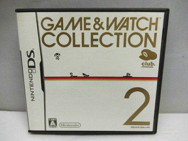 Nintendo DS, ソフト Nintendo DS GAMEWATCH COLLECTION2 2