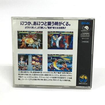 【中古】【クリックポスト発送可】《レトロ》SNK NEO・GEO CD 龍虎の拳2【NEOGEO】【ネオジオ ソフト】【ゲーム】【山城店】