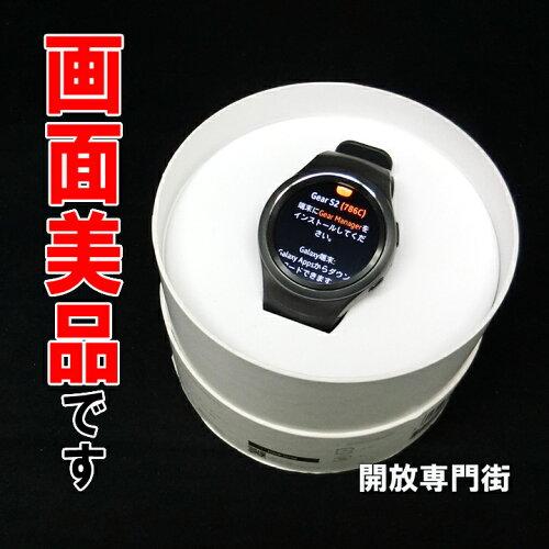 ★画面美品!動作良好です! SAMSUNG Gear S2 ダークグレイ docomo select SM-R720 【ウェ...