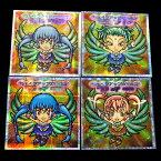 【中古】 ロッテ ビックリマンシール ウェイクアップガールズ 4種セット  2030H   カード【山城店】