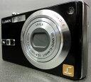 【中古】Panasonic/パナソニック デジタルカメラ LUMIX DMC-FX7 ブラック 【ER4LC001719】【デジタルカメラ】【コンデジ】【福山店】[171]