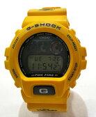 【中古】CASIO カシオ G-SHOCK ジーショック DW−6900H-9 腕時計 デジタル イエロー 3つ目 スラッシャー FOX FIRE フォックスファイアー 【108】【福山店】