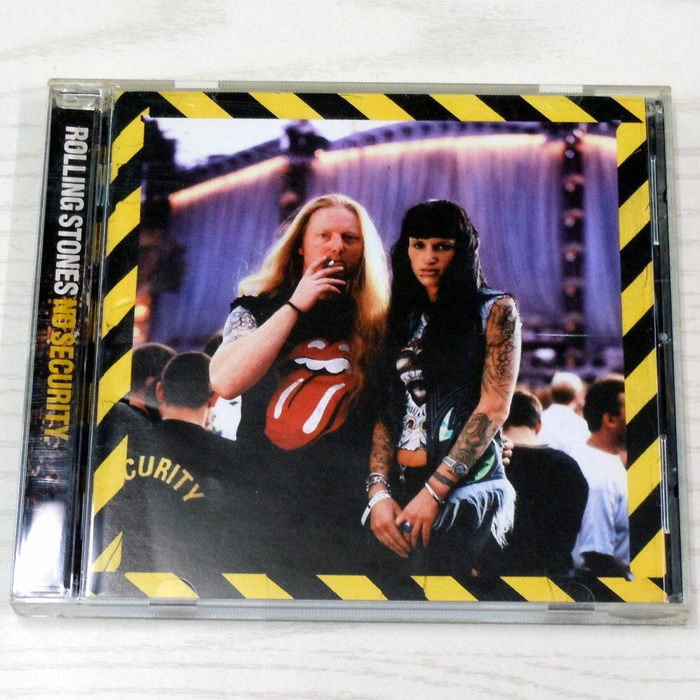 ♪The Rolling Stones / ローリング・ストーンズ【ノー・セキュリティ/No Security】CD/洋楽/ロック/ポップス【中古】【生活館】