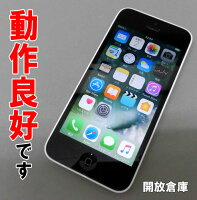 Softbank Apple iPhone5C 16GB ME541J/A ホワイト電化製品\スマートフォン・携帯電話\スマートフォン