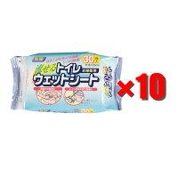 【10袋セット】SQ058トイレ用ウェットシート30P