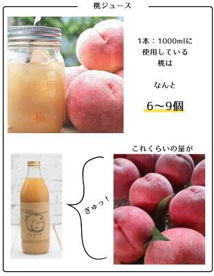 桃ジュース ぶどうジュース