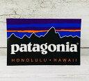 ○o。【新作入荷!!】ハワイ限定 Patagonia パタゴニア ステッカー パタロハ アロハ【ハワイアン雑貨】【ハワイアン小物】*ハワイ直輸入*pataloha Honolulu Hawaii シール ハワイアンインテリア 。o○