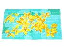 ○o。ハワイアンナンバープレート風レインボー大判バスタオル約79×153cmBIGタオルビーチタオル海海水浴プールハワイタペストリーHAWAIIプレートハワイアンインテリアハワイアン雑貨。o○