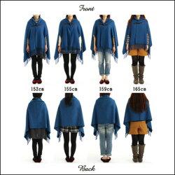 毛布屋さんがつくった着るショール「espoir」。毛布の本場泉大津からお届けします。