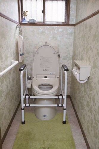 トイレ用補助手すりトイレ 手すり トイレ補助トイレ用アーム 洋式トイレ用の...