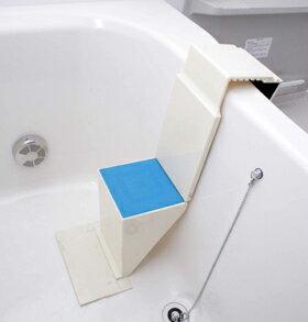 【4大特典付】浴槽に階段楽々安全入浴浴槽用ワンタッチステップ NEWタイプ 風呂