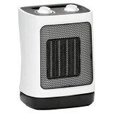 DBK セラミックファンヒーター ホワイト DCJ800A スイッチを入れると即、温たかい風を出す小型暖房器。【デービーケー セラミックヒーター 電気ヒーター 省エネ 暖房器具 足元 おすすめ ランキング 通販 メンズ レディース キッズ 大人 子供】