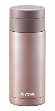 ステンレスマグボトル 340ml ブラウン 保温保冷共用水筒