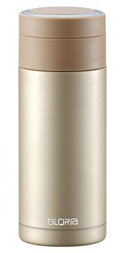 ステンレスマグボトル 340ml ゴールド 保温保冷共用水筒