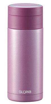 ステンレスマグボトル 340ml ピンク 保温保冷共用水筒