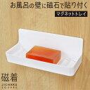 浴室収納「浴室の不便が一気に解消」磁石でくっつく!!磁着SQ マグネットバストレイ【ポイント10倍】