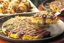 【送料無料】【産地直送】お好み焼きグルメセット 豚玉・いか玉・もちチーズ各200g×3、ねぎ焼180g×3、たこ焼(25g×8)×2、イカ豚ミックス焼そば220g×4 ※ラッピング・熨斗不可、代引不可
