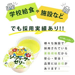 沖縄県産果汁使用シークヮーサーゼリー60g40個セット大容量アウトレット[賞味期限:2021年11月28日]【2〜3営業日以内に出荷】【送料無料】