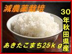 【新米】【送料無料】【減農薬】【29年産】【秋田県産】安心で美味しいあきたこまち25kg(10kg×2袋+5kg×1袋)