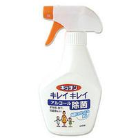 主成分のアルコールがしっかり除菌し、キッチンを清潔に保ちます♪ライオン キッチン キレイ...