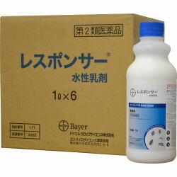 レスポンサー水性乳剤 1L×6本 チャバネゴキブリ駆除【第2類医薬品】:快適クラブ