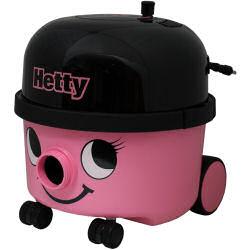 かわいいフェイスの業務用乾式掃除機、Hettyです!今ならヘンリーぬいぐるみプレゼント♪へティ...