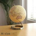 地球儀 GLOBE MMサイズ【世界地図 置物 カラフル 子供用雑貨 アンティーク レトロ 大きい 回る かわいい おしゃれ 新生活 インテリア】