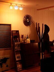 照明LED対応シーリングライト1灯ビードロシーリング【ライト照明器具天井おしゃれステンドグラスモザイクアンティークレトロ和室玄関トイレ直付けアジアン北欧ガラスダクトレールダイニング食卓用】【新生活インテリア】